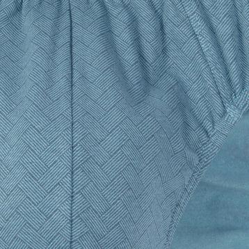 <b>2 szt.</b>, slipy męskie sport <br> niebieski jasny, MP-1415 - Atlantic