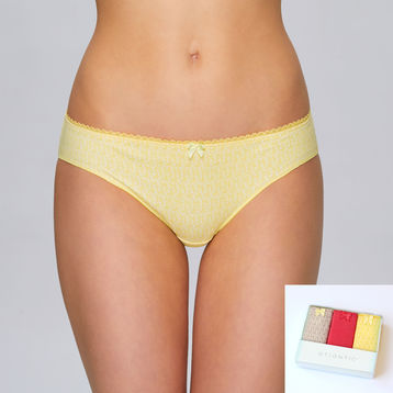 3-PACK figi bikini