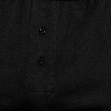 Bokserki męskie <br> czarny, BMB-003 - Atlantic