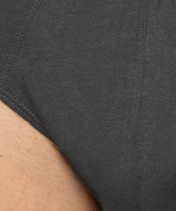 2 Pack Slipy męskie Classic z naturalnej bawełny w kolorze grafitowym Bielizna Atlantic Basic#2
