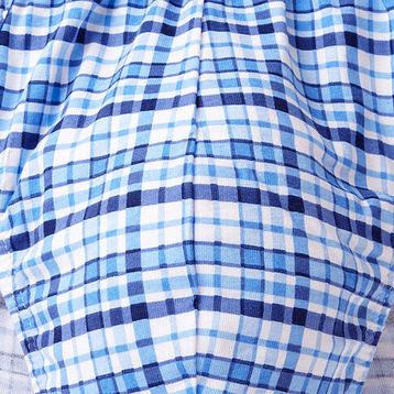 2 Pack Slipy męskie SPORT w kolorze niebieskim z elastycznej bawełny w dobrej cenie ATLANTIC CASUAL Bielizna wyprzedaż#2