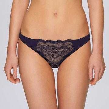 Figi, mini bikini <br> granatowy, LP-2717 - Atlantic