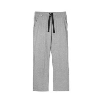 Spodnie piżamowe męskie <br> szary melanż, NMB-038 - Atlantic
