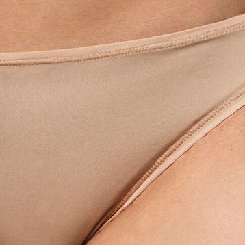 <b>2 szt.</b>, figi mini bikini <br> beżowy, BLP-050 - Atlantic