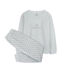 piżama damska komplet <br> szary jasny, NLP-457 - Atlantic