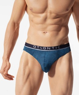 2 szt. slipy męskie <br> MP-1511-denim Atlantic Atlantic