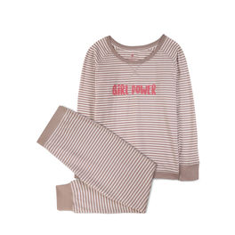 piżama damska komplet <br> ecru, NLP-453 - Atlantic