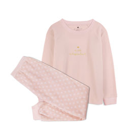 piżama damska komplet <br> różowy jasny, NLP-457 - Atlantic