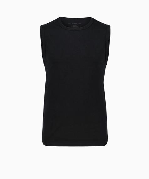 Bawełniana koszulka męska w kolorze czarnym