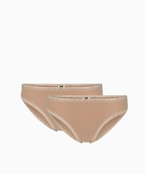 2-pack Figi Damskie Bikini, (1) - Bielizna damska
