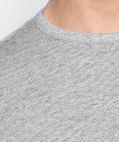 Koszulka męska z miękkiej bawełny z krótkim rękawem idealna jako podkoszulka lub koszulka dzienna