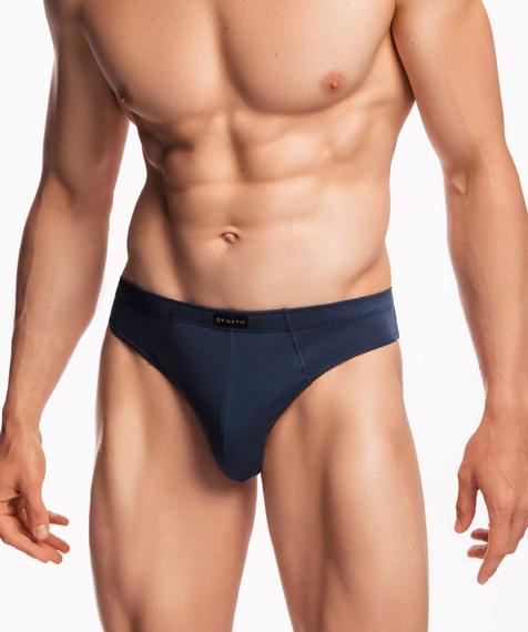 3-Pack Slipy Męskie sportowe bawełniane z guma w tunelu, Kolekcja Classic, Bielizna Męska Atlantic