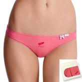 <b>2 szt.</b>, figi damskie bikini <br> różowy, LP-2669 - Atlantic