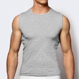 koszulka bawełniana <br> BMV-047-szary melanż - Atlantic