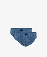 2 Pack Slipy męskie Sport w kolorze denim z bawełny z elastanem Bielizna Atlantic ENERGY#1